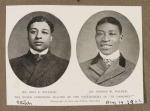 Bert Williams and George Walker, In Dahomey advert, from Sketch magazine, dated 19 August1903
