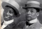 George Walker and Bert Williams, boaters, 1903q-01a