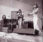 YES- Kaye, Howe, Anderson at Crystal Palace Bowl, probably 31 July 1971