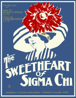 1911 Sweetheart of Sigma Chi-sheet, 13th ed.