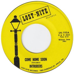 1961 Come Home Soon, Intruders, LN-195A