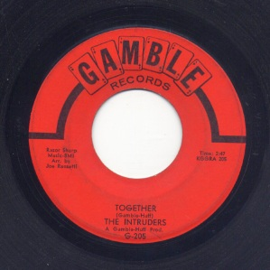 1967 Together (Gamble-Huff) Intruders, G-205-f42