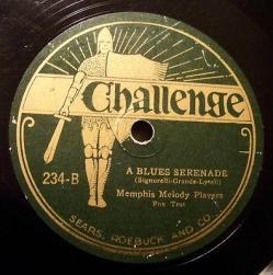 1927 A Blues Serenade-Challenge 234-B