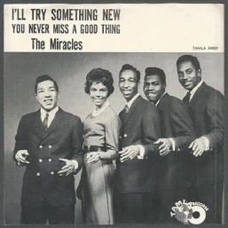 1962 I'll Try Something New, The Miracles, Tamla T 54059-75p