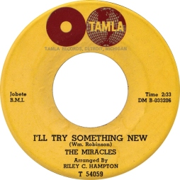 1962 I'll Try Something New, The Miracles, Tamla T 54059