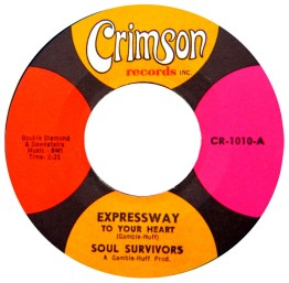 1967 Expressway to Your Heart (Gamble-Huff), Soul Survivors (CR-1010)-d50