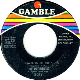 1968 Cowboys to Girls, Intruders (G-214) black-f50