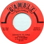 1968 Cowboys to Girls, Intruders (G-214)red