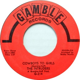 1968 Cowboys to Girls, Intruders (G-214) red
