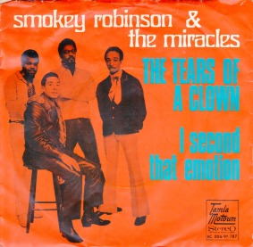 1970 Tears of a Clown, Smokie Robinson & the Miracles, Tamla Motown (Netherlands) 5C 006-91787, issued in August 1970