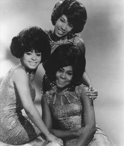 Marvelettes as trio by Kriegsmann, c.1965