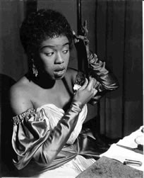 Sarah Vaughan, London, 1953
