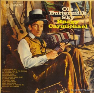 1958 Ole Buttermilk Sky, Hoagy Carmichael, LP Kapp KL 1086 (1)