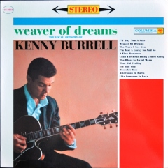 1961 Weaver of Dreams, Kenny Burrell, Columbia LP CS 8503