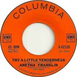1962 Try a Little Tenderness-Aretha Frankllin-Columbia 4-42520