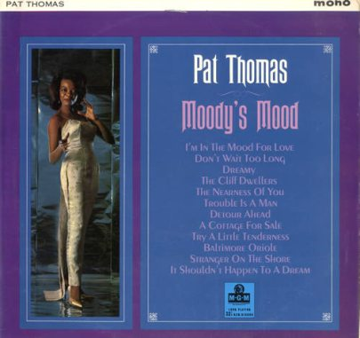 1964 Moody's Mood (LP)-Pat Thomas MGM (US) E 4206, SE 4206-f25