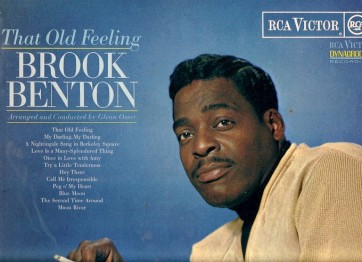 1966 That Old Feeling, Brook Benton, RCA Victor LPM-3514