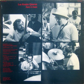 1974 Jazz à Juan -- Lee Konitz, live at Juan-les-Pins, Antibes, 26 July 1974 (back)