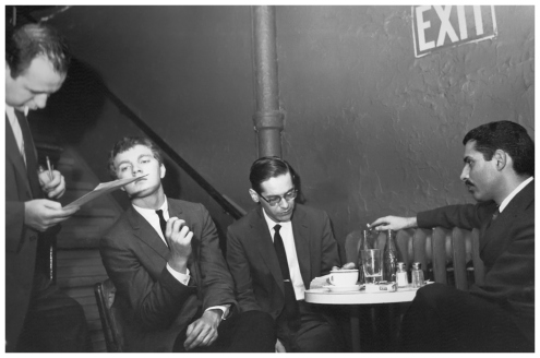 Bill Evans Trio, Village Vanguard, 1961, by Steve Schapiro (1a)