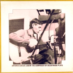 1963 Antonio Carlos Jobim-The Composer of Desafinado, Plays-Verve V6-8547, gatefold inside photo