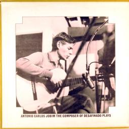 1963 Antonio Carlos Jobim-The Composer of Desafinado, Plays-Verve V6-8547, gatefold inside photo