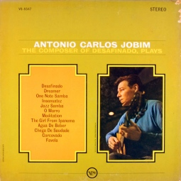 1963 Antonio Carlos Jobim-The Composer of Desafinado, Plays-Verve V6-8547