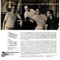 1963 Mais Bossa Com Os Cariocas, Philips P 632.177 L (back)