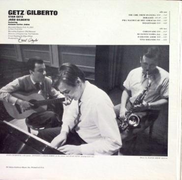 1964 Getz-Gilberto, Verve V6-8545, inside gatefold cover (2)