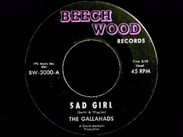 1965 Sad Girl-Gallahads-Beechwood BW-3000 (2a)