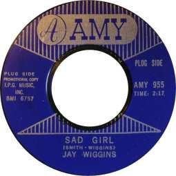 1966 Sad Girl-Jay Wiggins-Amy 955 (matrix 6757)-2b