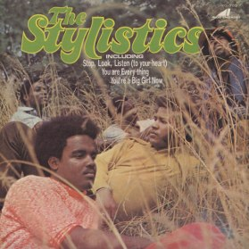 1971 The Stylistics (debut LP), Avco Records AV-33023 (front)