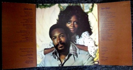 1973 Diana & Marvin, Motown M-803V1, tri-fold inside photo-d43