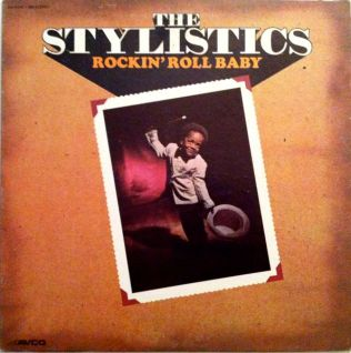 1973 Rockin' Roll Baby-Stylistics-Avco Records AV-11010-598
