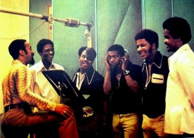 Thom Bell (left) and the Stylistics