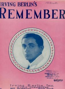 1925 Remember (Irving Berlin)-1-d45