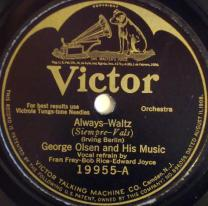 1926 Always-George Olsen and His Music-Victor 19955-A (1)