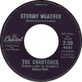 1961 Stormy Weather-Chantones-Capitol (Canada) 4661