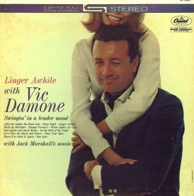 1962 Linger Awhile-Vic Damone-Capitol Records 1646