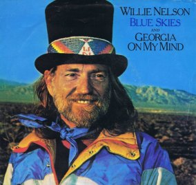 1979 Blue Skies and Georgia On My Mind-Willie Nelson-CBS (AU) BA222669