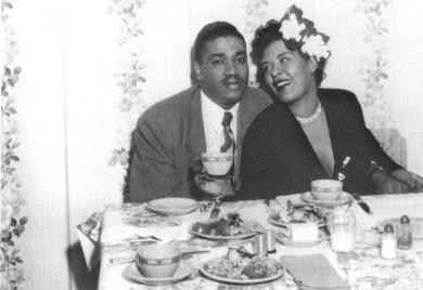 Billie Holiday and Louis McKay, April 1951 (2)