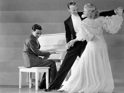 Irving Berlin plays as Fred Astaire and Ginger Rogers dance-1