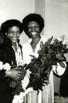 Whitney Houston and mother Cissy Houston, c. mid-1970s, ©  Gary Czvekus