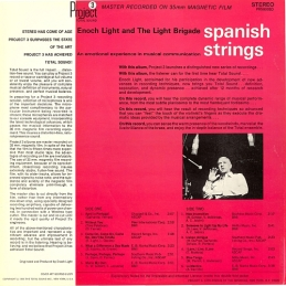 1966 Spanish Strings-Enoch Light and the Light Brigade-back