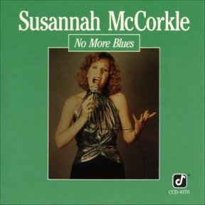 1989 No More Blues-Susannah McCorkle, Concord Jazz