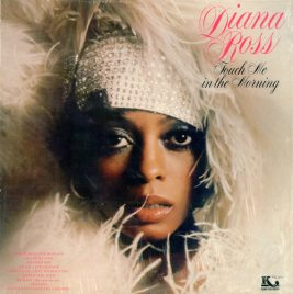 1973 Touch Me in the Morning (LP)-Diana Ross-1977 reissue, Kory Records KK 1008