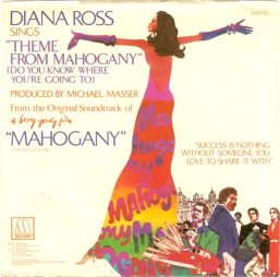 1975 Theme From Mahogany (Do You Know Where You're Going To) Motown M 1377F (sleeve)