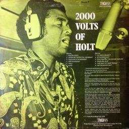 1976 (LP) 2000 Volts of Holt, Trojan Records TRLS 134 (back)