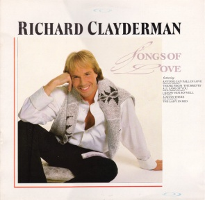 1987 Songs of Love (LP) Richard Clayderman-Decca (UK) SKL 5345