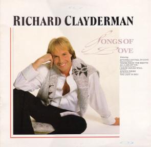 1987 Songs of Love (LP) Richard Clayderman-Decca (UK) SKL 5345