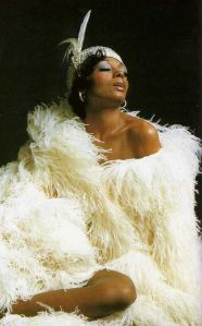 Diana Ross, feathers (3)
